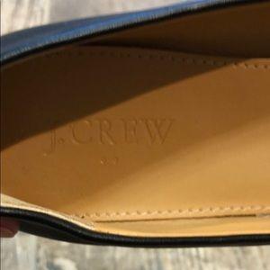 J. Crew Shoes - J. Crew Black Leather Ballet Flats Size 7